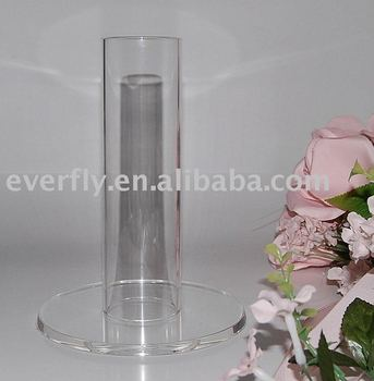 acrylic flower holder