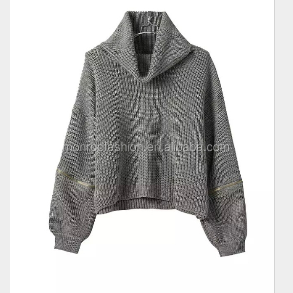 Monroo fall european style fashion sweater ladies knitwear