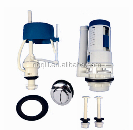 QL-150MT bathroom plastic wall mount flush valve