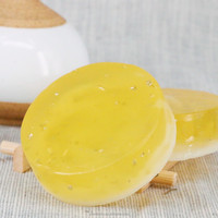 100% Herbal Skin Anti aging 24K Gold Face Soap