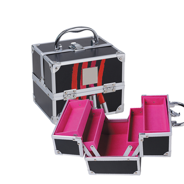 ISO and BSCI certificate china factory AVON case manufacturer for custom design cosmetics makeup case