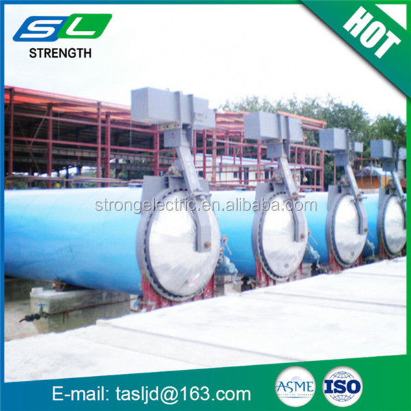 Perfect performance carbon steel aac autoclave horizontal industrial autoclave supply vessel from China