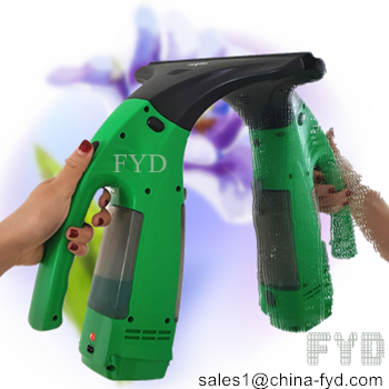cordless window vacuum cleaner, bagless glass vacuum cleaner, rechargeable window vacuum cleaner kit