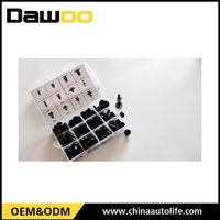 Professional wonderful box auto plastic clips fasteners for car