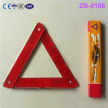 ZB 2017 NEW automotive triangle reflective plance