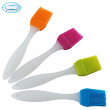 Food grade reusable heat resistant kitchen tools silicone oil basting brush