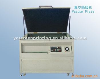 Vancuum exposure machinery for clothes drier