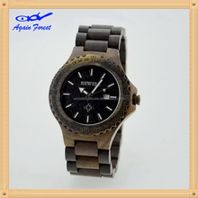 Good quality manufacture new arrived natural wood watch