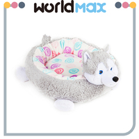 Popular New Designed Washable Pet Mat Cozy Cat Bed Plush Dog Kennel