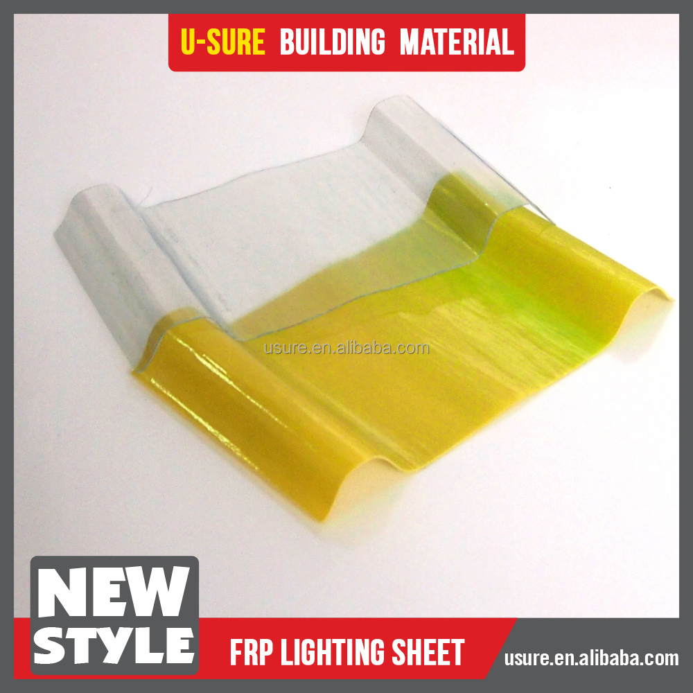 bamboo roofing sheets / flexible plastic sheets / frp sandwich panel