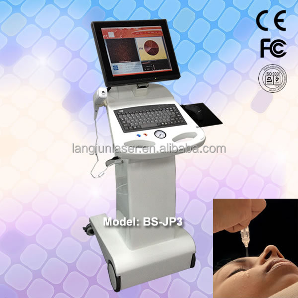 Jet Peel machine/Oxygen inject machine/Oxygen therapy facial machine BS-JP3