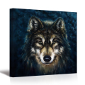 Abstract Wolf Animal Painting Canvas Prints 1 Pieces Canvas Wall Art Pictures for Living Room Bedroom/SV10243