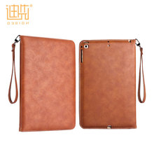 China wholesale PU material easy carrying foldable lightweight custom cover tablet pc case for ipad