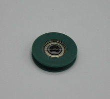 sliding shower door buttom roller Small Plastic Roller pulley Nylon roller with Bearing