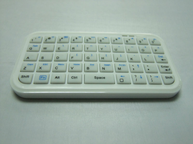 49 keys Bluetooth Keyboard,Mini Wireless Bluetooth Keyboard For iPhone/PS3/PC/iPad 2