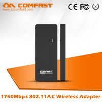 New Arrival COMFAST CF-917AC Realtek 1750Mbps Long Range 802.11AC Wireless Wifi USB Lan Adapter Network Card for windows