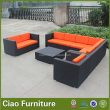 On Sale Sofa Promotion Rattan Sofa/Wide Arm Cheap Sofa Outdoor/Cube sofa set