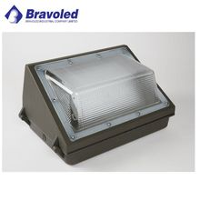 Waterproof IP65 ETL DLC Listed Outdoor 80w wall pack LED dusk to dawn Light