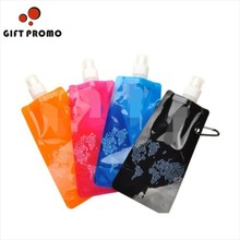 Sports Foldable Water Bottle For Travellers