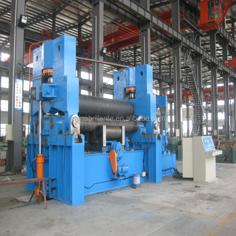 JIANGSU NANTON: BRILLANTE: Hydraulic Upper roller Universal <strong>Rolling</strong> <strong>Machine</strong> <strong>W11S</strong>-