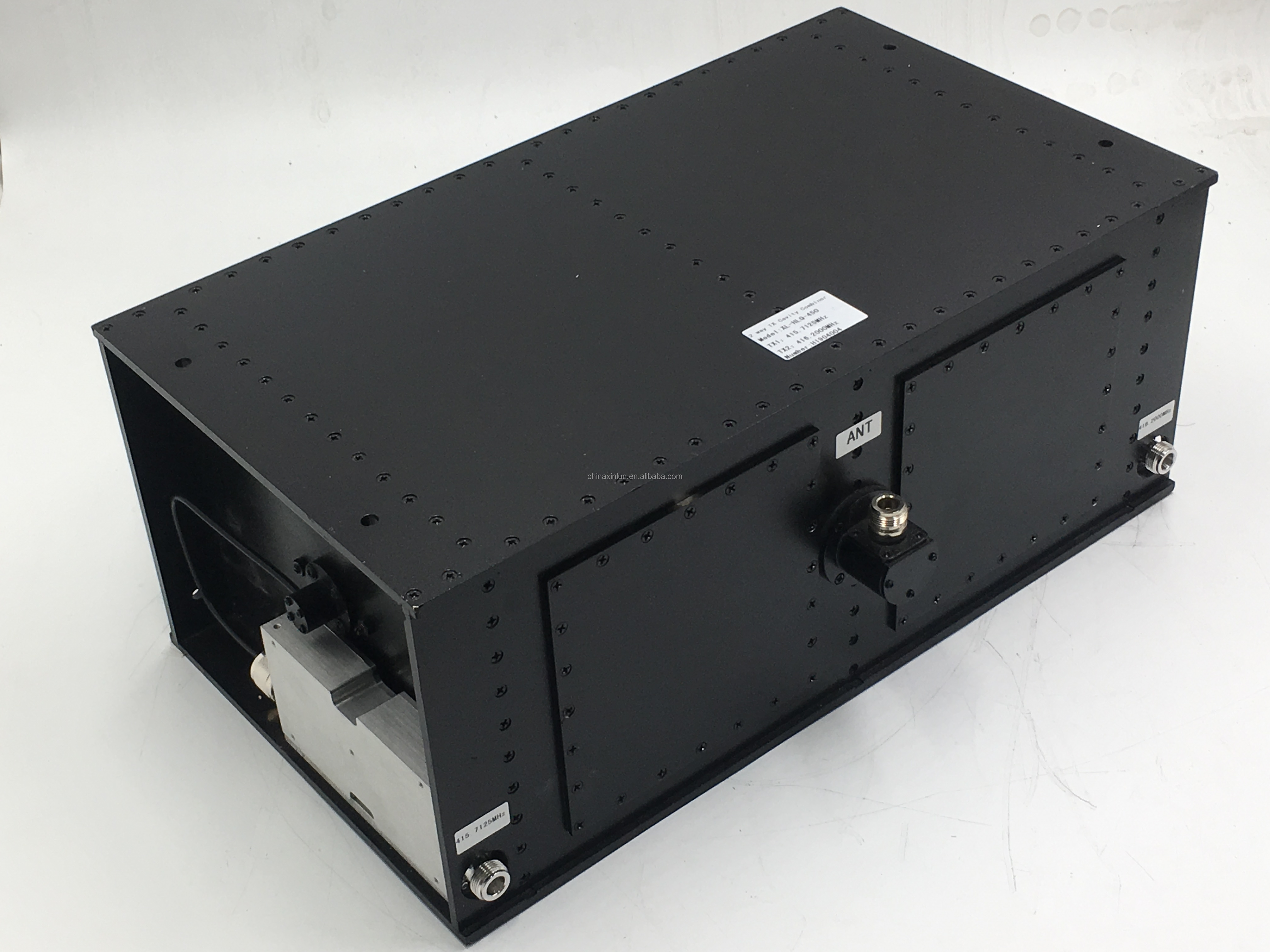 UHF 2 Channel Cavity Combiner for Two Way Radio Repeater 330~520MHz TX Combiner