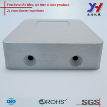 Sand blasted aluminum die cast cover, CNC machining cover