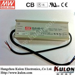 Mean well UL 60W led driver 12v dimmable,CLG-60-12