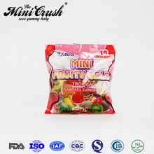 Lari Brand 20g Strawberry Soft Jelly Pop Candy Jelly With Nata De Coco Jelly Candy