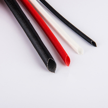 Hot New Products flame resistance silicone fiberglass tubing