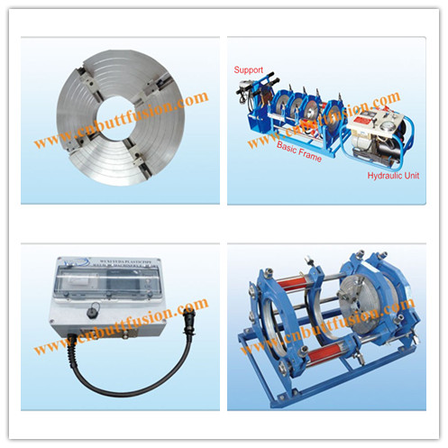 plastic tube butt welding machine from 110mm to 250mm