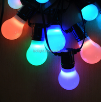 extendable waterproof IP 67 E27 bulbs Led belt string lights led play light for christmas and holiday decoration
