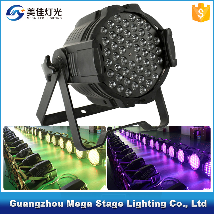Factory <strong>price</strong> 4in1 RGBW 54X3W led par can christmas led lights