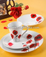 New style hot-sale fine porcelain luxury dinnerware