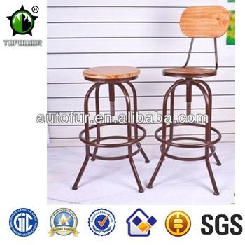 Factory price high end swivel wooden bar stools buy for High end bar stools swivel