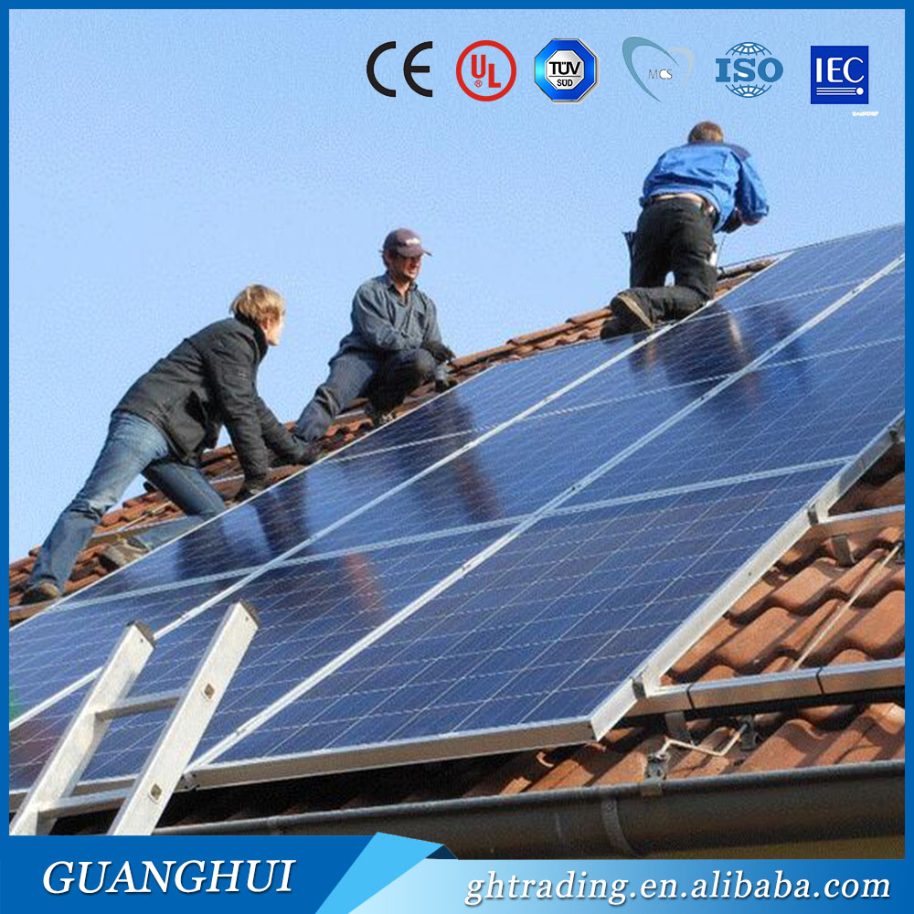 CE TUV approved 100w poly ningbo solar panel