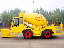 Mobile Small Cement Hydraul 4X4 2.5Cbm Self Loading Mixer Truck