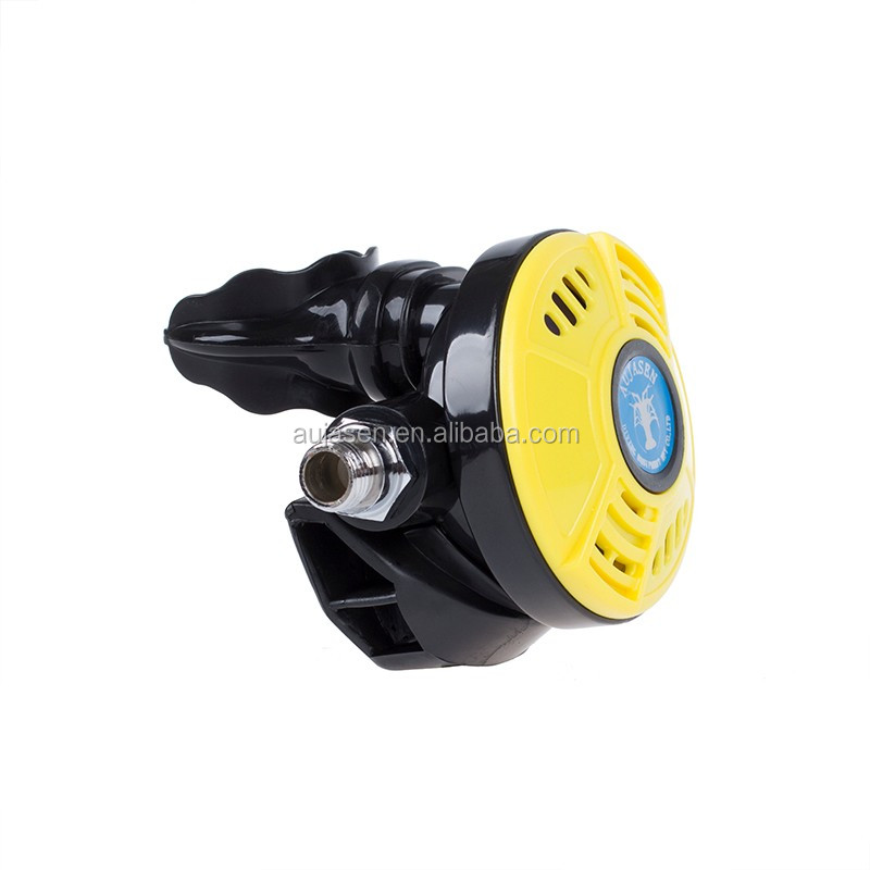 Second stage regulator extremely light weight and patent design CE certificated for scuba ding