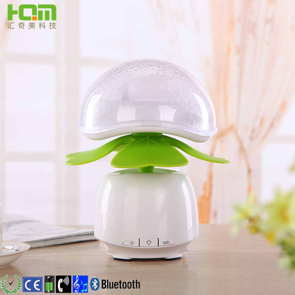 Multifunction wireless bluetooth music Cartoon Eva Wireless Desk Lamps