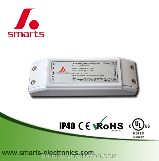 10w 24V led strip triac dimmable led driver