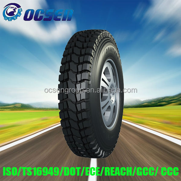 first class truck tire from China factory heavy duty truck tire