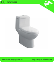 smart and hot sale Ceramic washdown or siphonic sanitary ware toilet one piece wc toilet