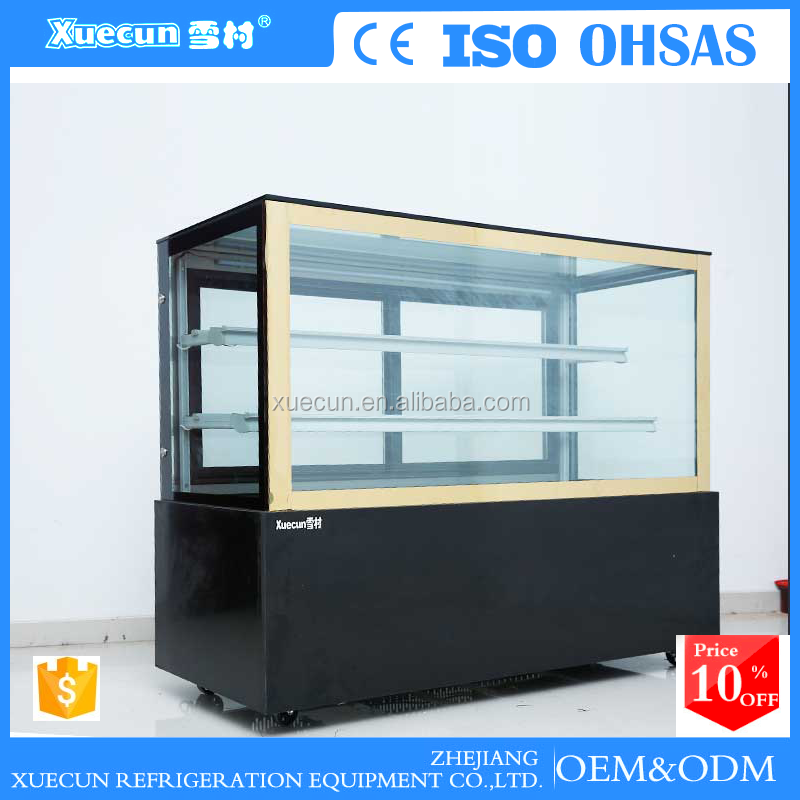 counter fish cake display chiller rack baking food freezer