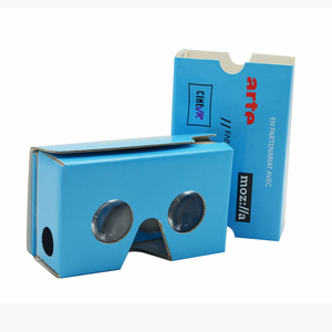 Best selling virtual reality 3d glasses custom google cardboard paper vr cardboard