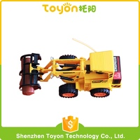 quality Assurance popular Radio control truck Yellow Plastic ABS new arrival rc cartoon truck toy