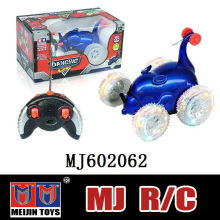 Catoon Animal mouse shape rc stunt car with four light