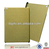 for iPad case , for iPad air 100% real carbon fiber case with high radiation proof