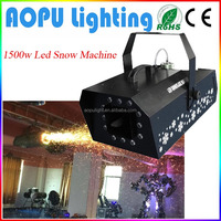 Super quality hotsell 1500w indoor spraying snow machine