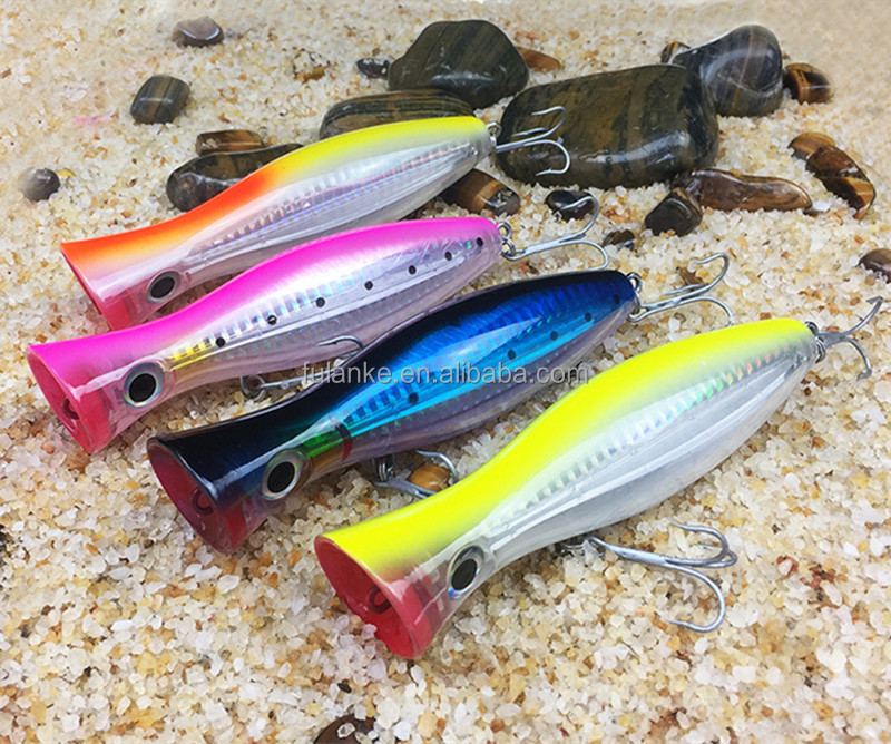 12cm 42g Hot Sale ABS Material Hard Plastic Popper Fishing Lure