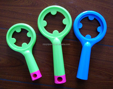 customize injection plastic comb round handle