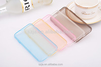 Slim High Clear Transparent TPU mobile phone case for iPhone 7